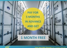 Self Storage 6 Month Promotion In Surrey