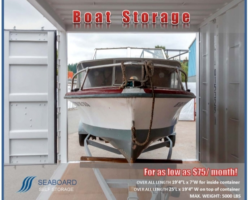 Seaboard Boat & RV Storage In Surrey