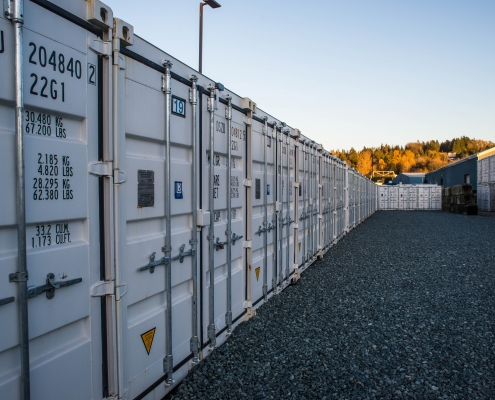 Seaboard Self Storage Outdoor Storage Lockers In Surrey