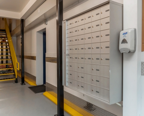 Seaboard Storage Lockers and Mailing boxes